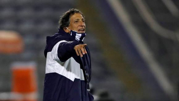Mario Salas dirigió 18 partidos con Alianza Lima. (Foto: EFE)
