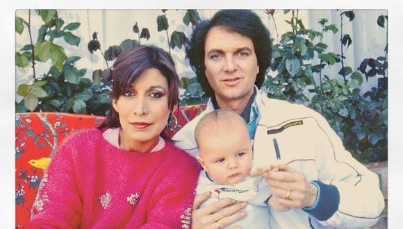 Camilo Sesto y Lourdes Onerlas junto a su pequeño , Camilo Blanes Jr (Foto: GEC)