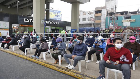 La cantidad de pacientes recuperados aumentó este jueves. (Foto: Violeta Ayasta / @photo.gec)