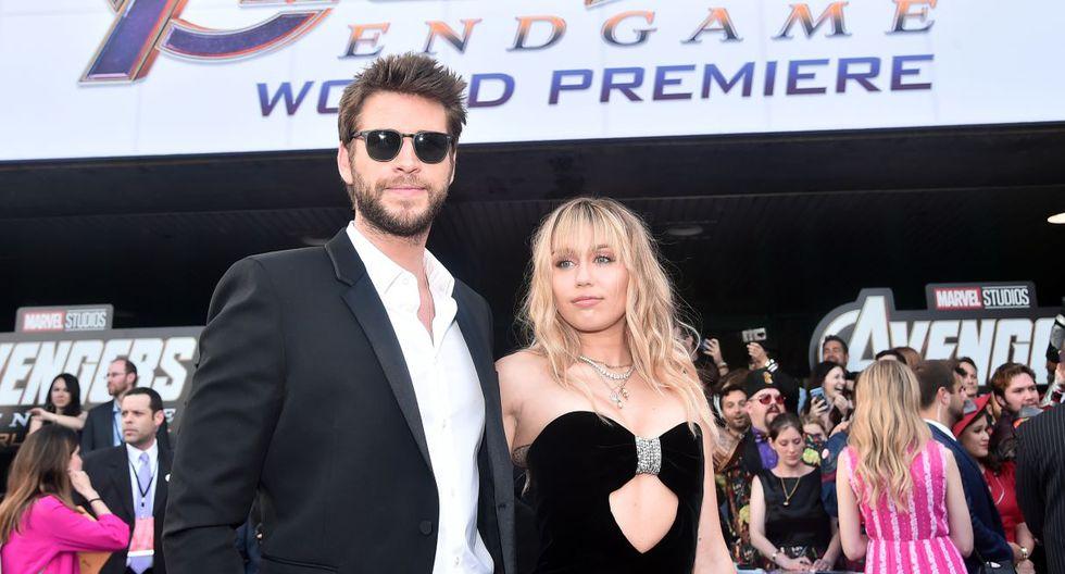 Miley Cyrus y Liam Hemsworth no tendrían planeado divorciarse al corto plazo. (Foto: AFP)