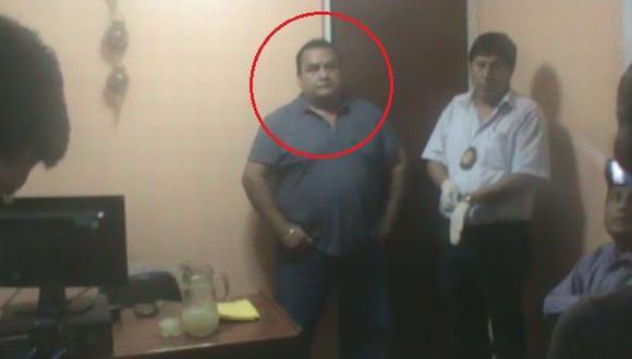 Jefe de la Divincri de El Agustino fue detenido intentando cobrar una coima. (Difusión)