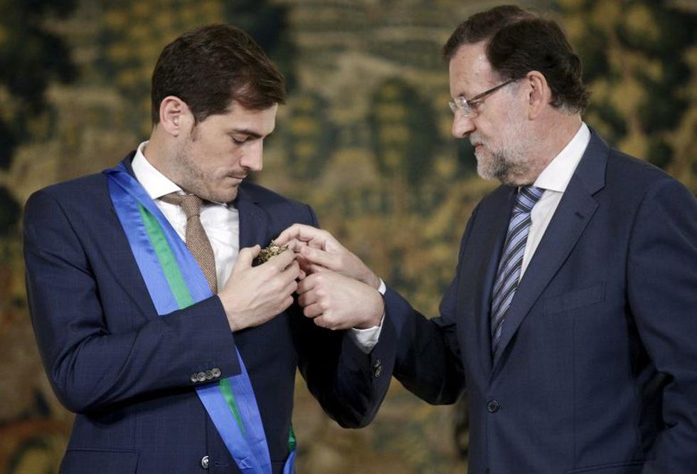 Iker Casillas jugó por muchos años en Real Madrid. (Reuters)