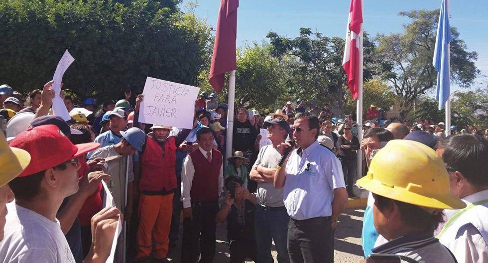 El alcalde provincial Arturo Montesinos pidió que los venezolanos se vayan de la localidad. (Municipalidad de Caravelí)