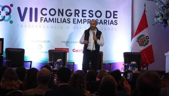 VIII Congreso de Familias Empresarias se llevará a cabo el 27 de octubre. (Foto del evento anterior)