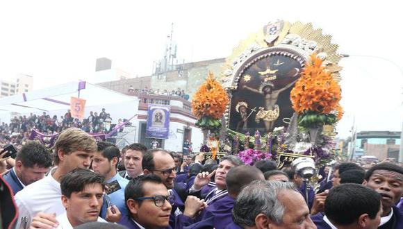 Inició la segunda procesión del Señor de Los Milagros (USI)