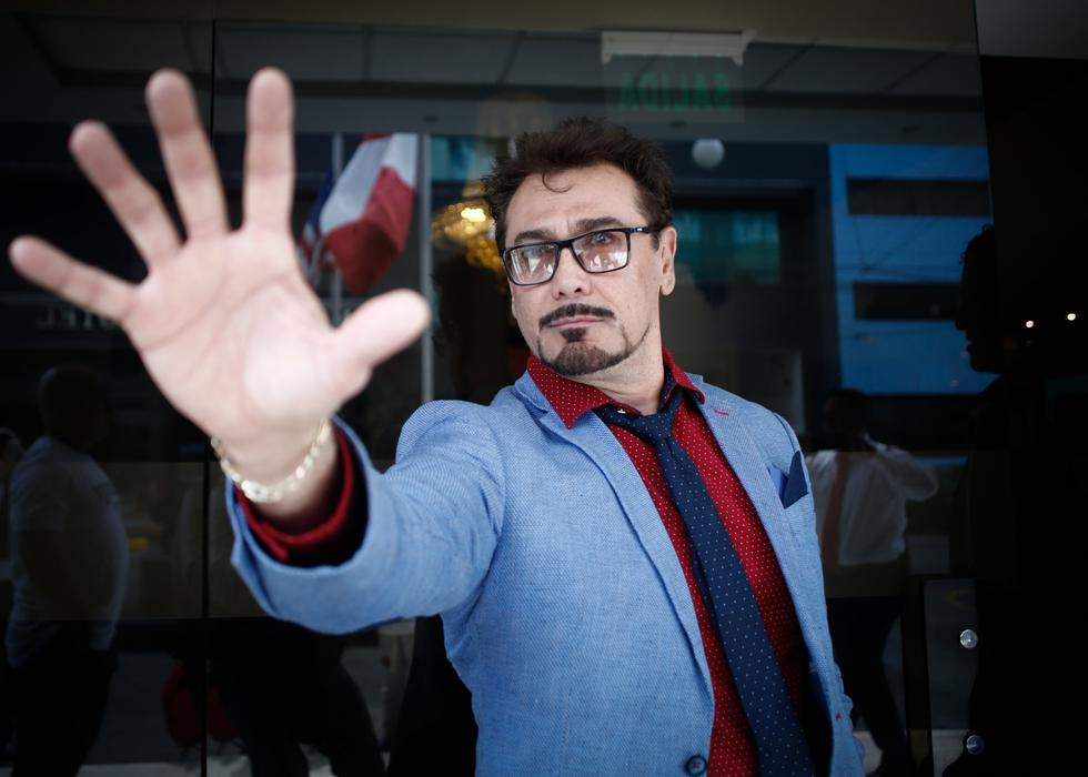 Braulio Ledezma tiene un gran parecido con el Robert Downey Jr., actor que encarna a Tony Stark en las películas de Marvel Comics (Renzo Salazar/Perú21).