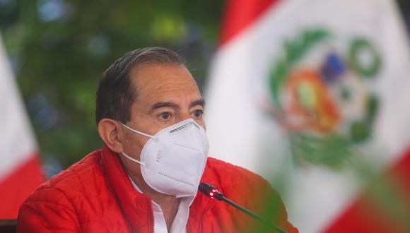 El primer ministro, Walter Martos, también se refirió a la moción de vacancia promovida por Antauro Humala desde la cárcel. (Foto: Presidencia)