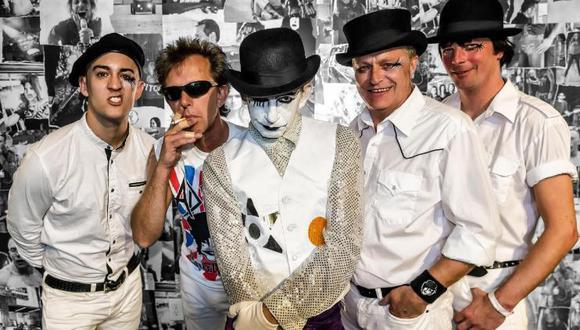 El esperado concierto de The Adicts tendrá lugar este 11 de marzo en el C.C. Embassy de la Plaza San Martín. (Foto: Difusión)
