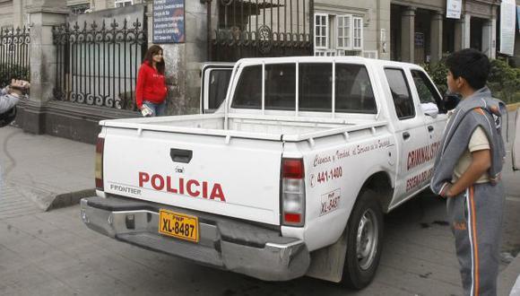 SALVÓ DE MORIR. Víctima permanece en el hospital Loayza. (Rolando Ángeles/USI)