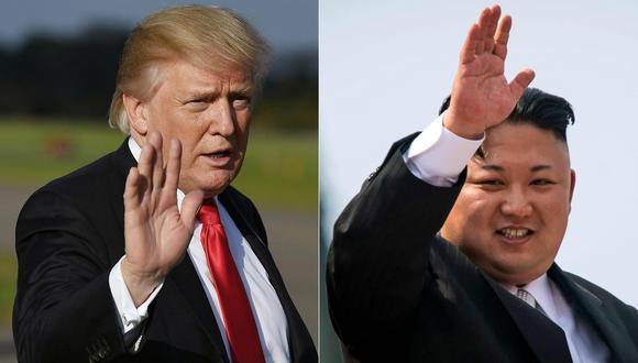 El presidente de EE.UU., Donald Trump, se encuentra en Asia en una gira en donde se trató la actual crisis con Corea del Norte (AFP).