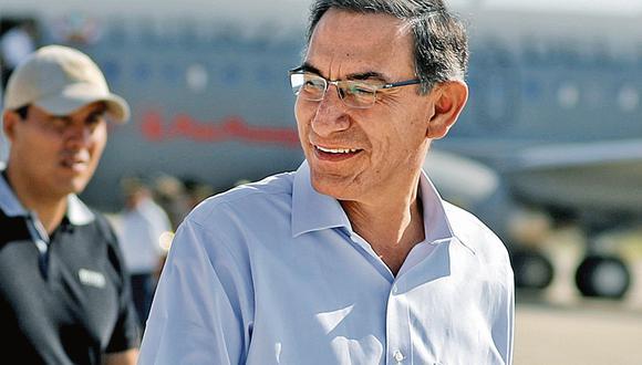 INSTANCIAS. Presidente Vizcarra demandó celeridad a legisladores. (Presidencia)