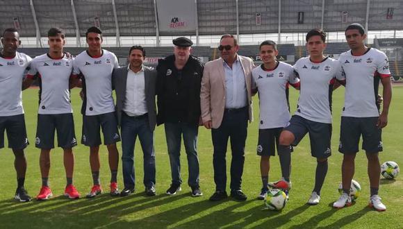 Lobos BUAP presentó a los seis refuerzos para el Clausura 2019 (Foto: @edgonzalez77).
