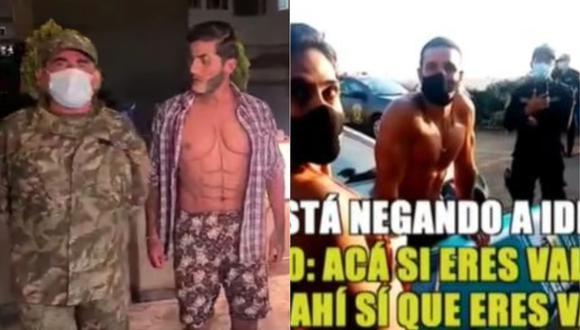 Carlos Álvarez parodiará la polémica intervención de Vania Bludau y Mario Irivarren. (Foto: Captura de video)