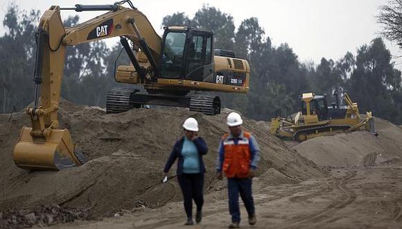 El sector construcción retrocedió 2.9% interanual en setiembre. (Foto: El Comercio)