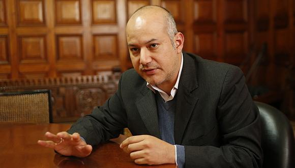 LANZA HIPÓTESIS. Tejada vuelve a la carga días antes del debate de los informes de la megacomisión. (Luis Gonzales)