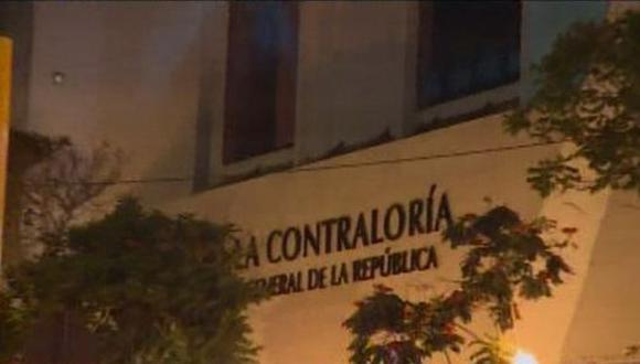La Contraloría realiza las investigaciones correspondientes. (Foto: Captura/América Noticias)