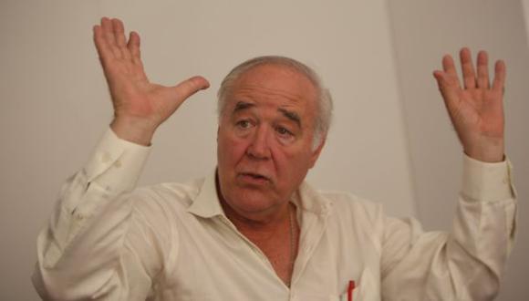 """Víctor A. García Belaunde: """"Mis palabras fueron malinterpretadas, yo apoyo a los autistas"""". (Luis Centurión/Perú21)"""