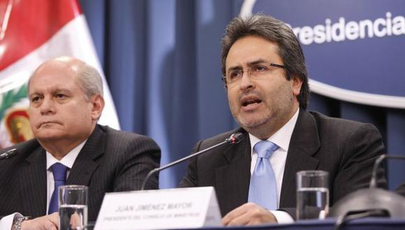 OTRA VEZ AL CONGRESO. Apristas y fujimoristas piden explicaciones a ministros Jiménez y Cateriano. (Luis Gonzales)