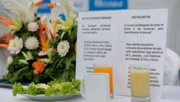 EsSalud recomienda tener un consumo balanceado de alimentos a diario (Foto: Seguro Social)
