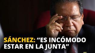 """Pablo Sánchez: """"Es incómodo estar en Junta"""" [VIDEO]"""