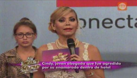 Gisela Valcárcel explicó por qué no se pronunció sobre el caso de Angie Arizaga y Nicola Porcella. (Captura de TV)