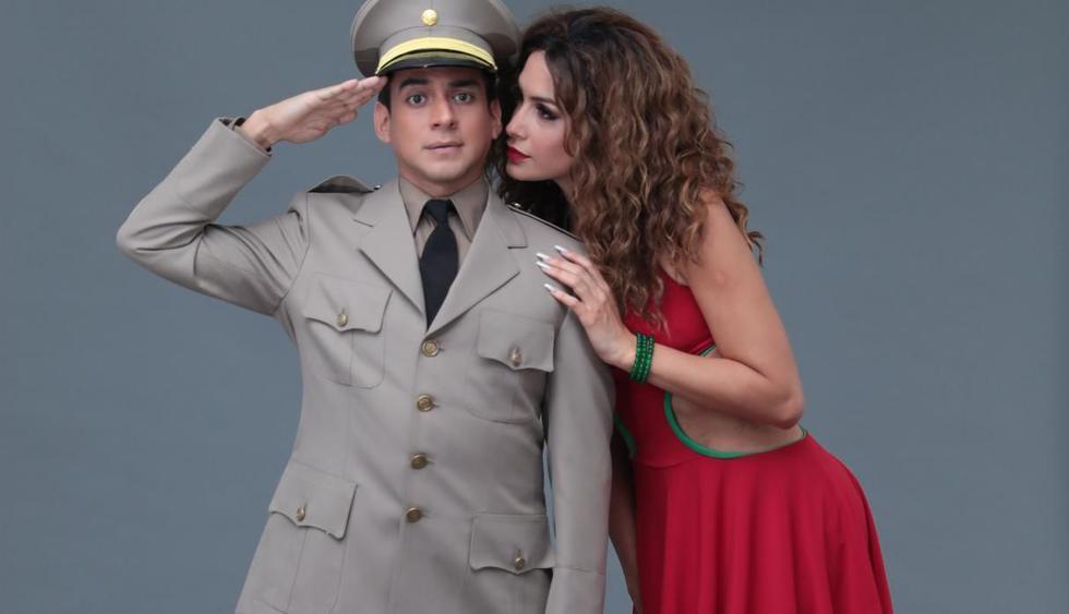 Emanuel Soriano y Milett Figueroa son los protagonistas (Foto: Hugo Pérez / El Comercio)