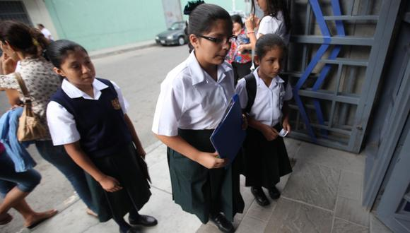 Profesores deben ir antes. (Perú21)