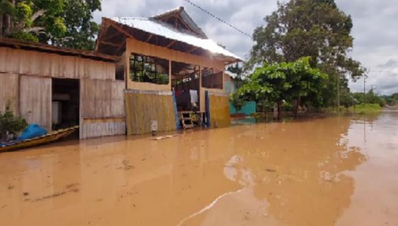 Huánuco: las autoridades locales coordinan las acciones de respuesta, lo que incluye la entrega de bienes de ayuda humanitaria. (Foto: Indeci)