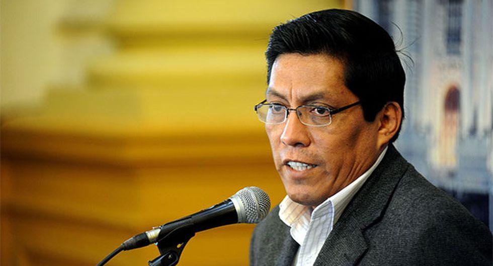 Ministro de Justicia, Vicente Zeballos, había sido citado por el Congreso tras la fuga de César Hinostroza. (Foto: Agencia Andina)