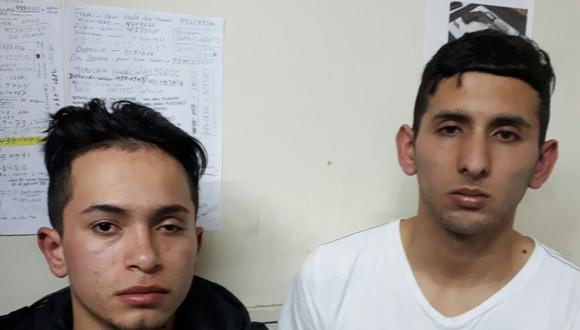 Delincuentes son capturados tras asaltar a taxistas