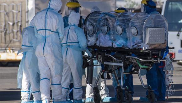 Piura ocupa tercer lugar de contagiados por COVID-19 y Lambayeque  segundo lugar de muertes con 568 víctimas. (Foto referencial: AFP / Martin BERNETTI)