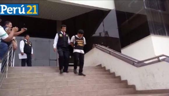 Caen presuntos asaltantes de financieras y bancos. (Perú21)