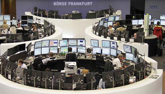 Elíndice DAX 30 de Frankfurt se dejó 0.01% y se ubicó en 11,298 unidades.(Foto: Reuters)