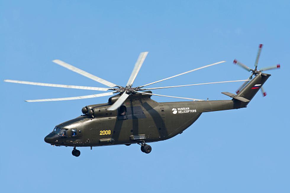 El helicoptero más grande del mundo