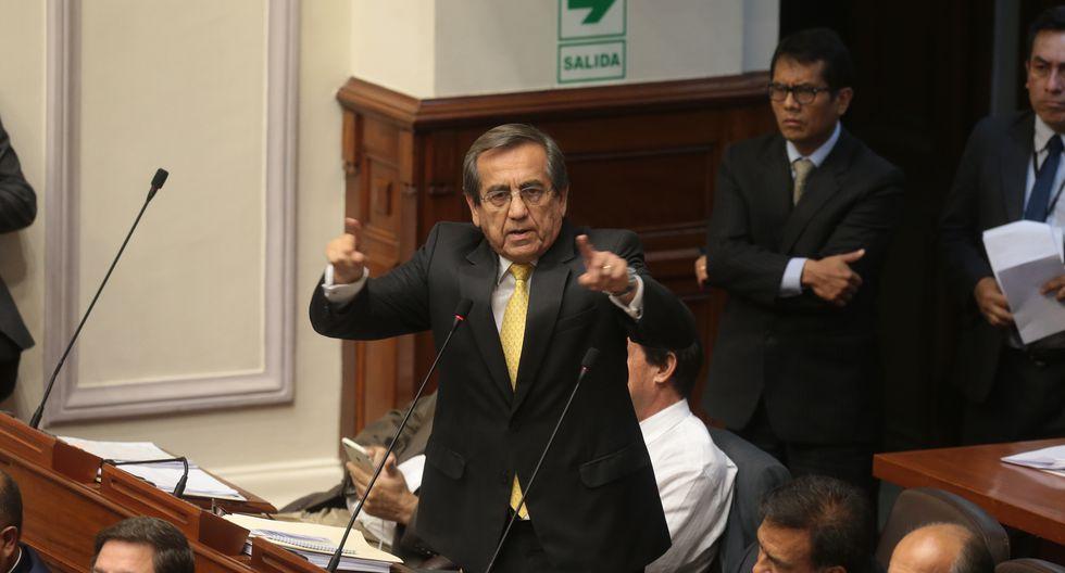 Jorge del Castillo recordó que con la abstención de voto de Humberto Morales se excluyó a Alan García de las investigaciones en el informe de mayoría de Lava Jato.(FOTO: USI)