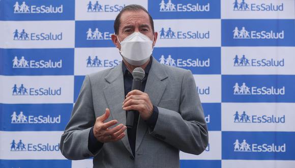 El primer ministro, Walter Martos, cuestionó que hay intereses en generar una vacancia o una renuncia de Martín Vizcarra a menos de 6 meses de las elecciones. (Foto: PCM)