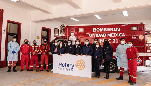 Foto: Compañía de Bomberos Voluntarios N°21 del Rímac