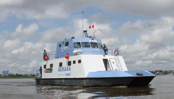Loreto: Embarcación del Senasa navegará 15 días y atenderá a productores de 30 comunidades nativas (Foto: Senasa)