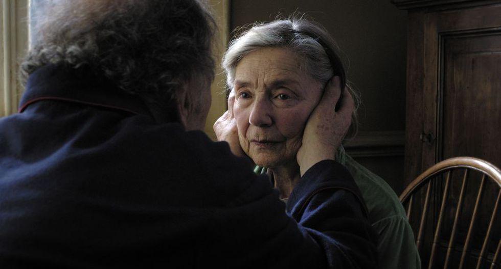 La actriz Emmanuelle Riva en la película 'Amour', de Michael Haneke. (AP)
