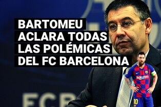 Presidente del Barcelona aclaró todas las dudas sobre la continuidad de Lionel Messi