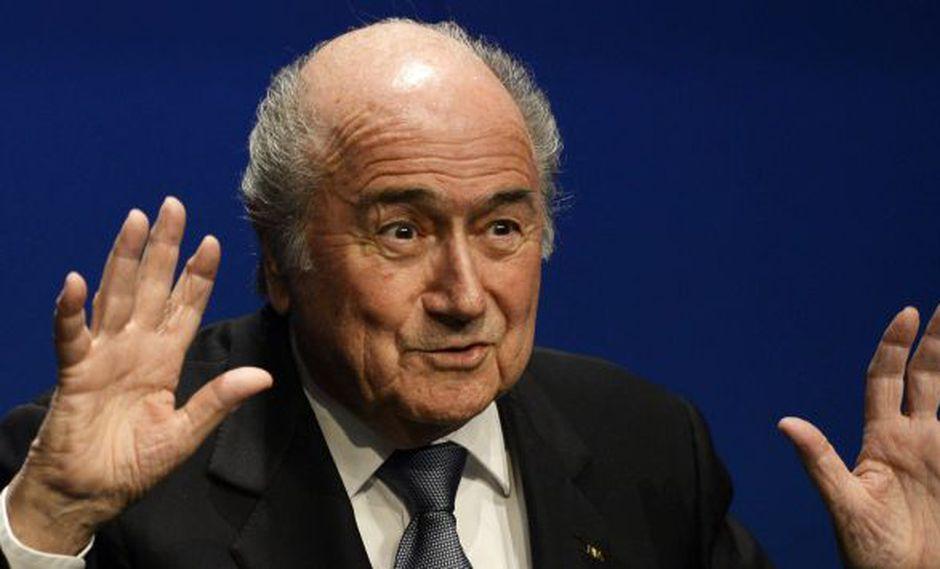 Joseph Blatter quiere eliminar la tanda de penales de los partidos. (EFE)