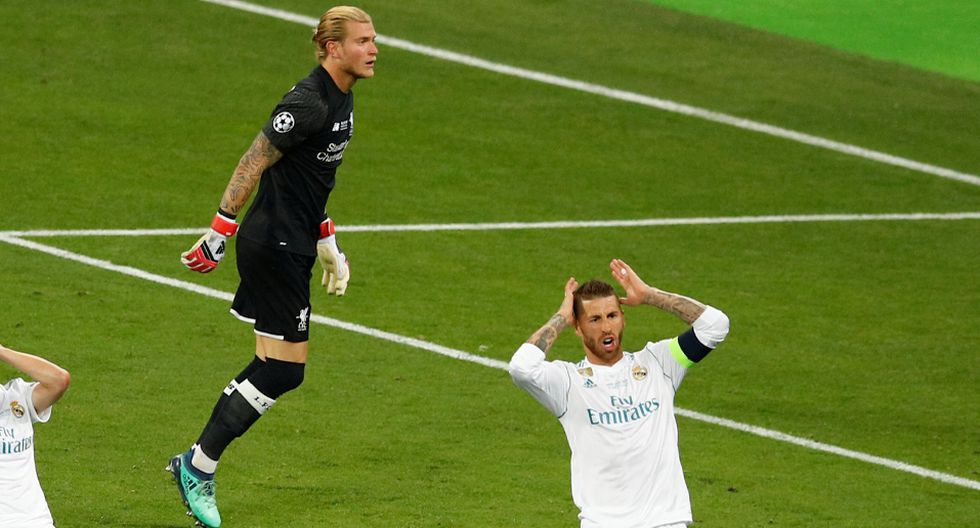 Loris Karius jugó la final de Champions League entre Liverpool y Real Madrid. (Reuters)