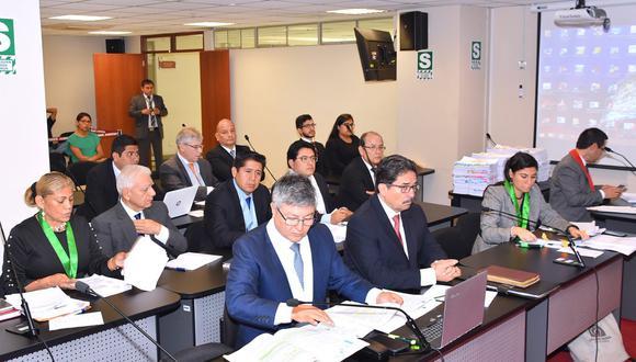 Sala evalúa apelación a prisión preventiva para Luis Nava, así como apelación a comparecencia de Enrique Cornejo. (Foto: Poder Judicial)