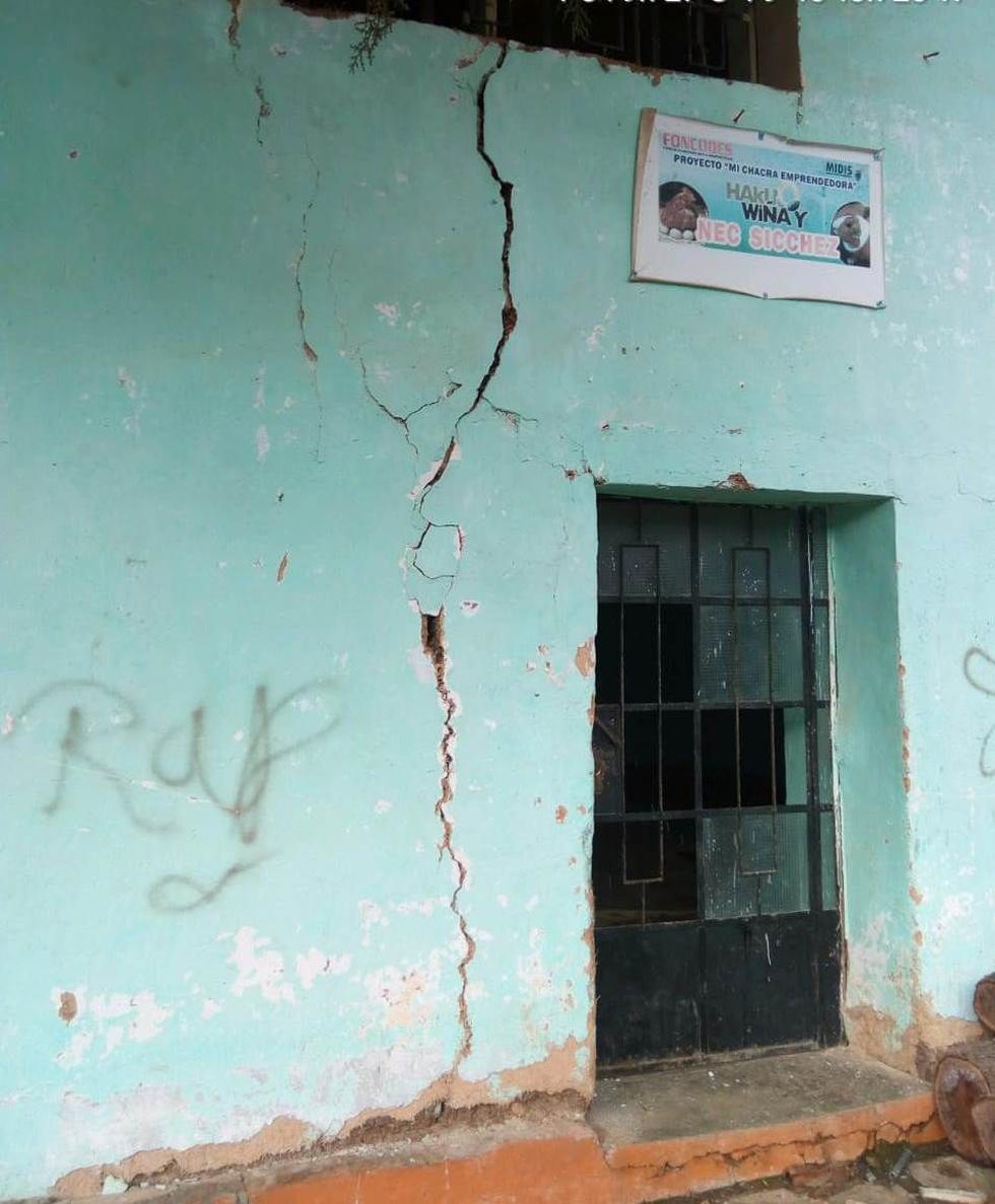 Un total de 122 colegios han sido afectados por las fuertes lluvias en Piura.