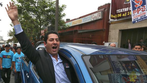 Salvador Heresi criticó a Villarán por no cumplir con su promesa. (Andina)