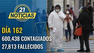 Casos confirmados por coronavirus ascienden a 600,438