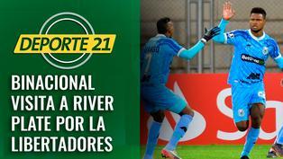 Binacional visita a River Plate por la Libertadores