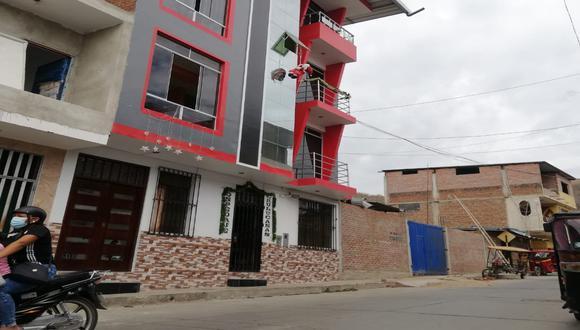 Piura: En un hostal del distrito de Chulucanas de la provincia de Morropón se registró un feminicidio que sería el primero del 2021. (Foto Difusión)