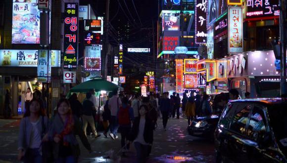 Lujoso barrio de Gangnam. (Internet)