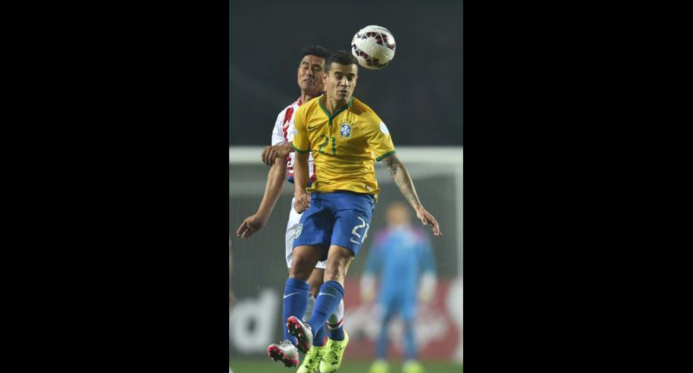 Philippe Coutinho fue titular.(Foto: AFP)